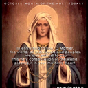 Day 3 - Continuing on our daily Consecration to Mary to be our guide and help.